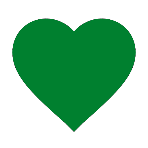 Heart icon (top database)